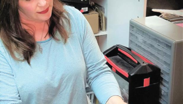 American Legion Auxiliary member Amanda Engels has begun making poppy-themed jewelry at her home as a fundraiser for veterans. Engels and Sandy Josephson are organizing the fundraiser and upcoming workshops.