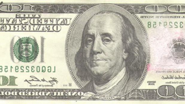 Be watching, there are fake $100.00 bills being used in the area.