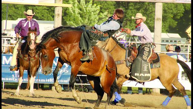 Brian Dittmer rides Final Stone.