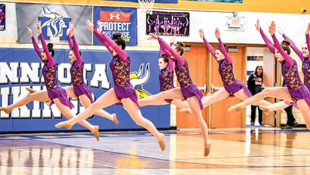 The Canby-Minneota Sensations girls dance team took fourth at their invitational on Thursday.