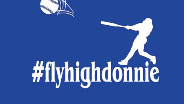 Fly High Donnie shirts are available for anyone with proceeds going to the Schuelke family.