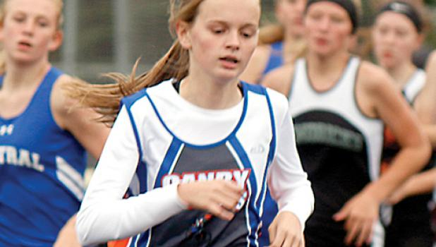 Grace Drietz was the lone state qualifier for the Canby-Minneota girls' track team last year. She medaled after finishing eighth in the 1,600 meter run as a seventh-grader.