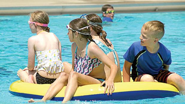 Summertime is pool time. And the kids have a good times. The Pool Pals hope to keep it that way.