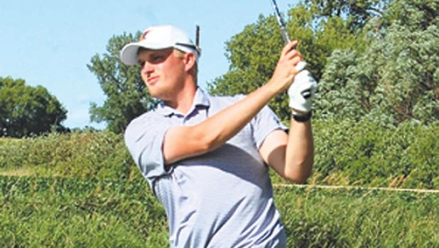 Matt Bennett of Marshall won his first Wynston Boe tournament title on Sunday at Countryside Golf Club in Minneota.