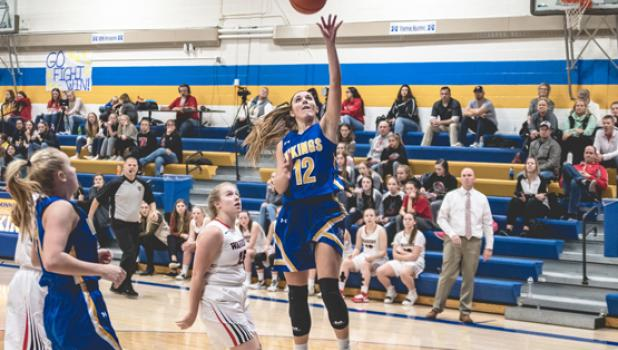 Abby Hennen and Natalee Rolbiecki combined for 51 points as unbeaten Minneota stymied Kerkhoven-Murdock-Sunburg 77-38 on Thursday in Kerkhoven.