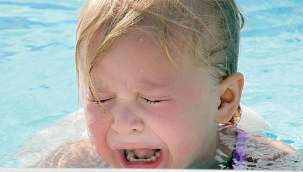 Kaitlin Gorecki was not a fan of swimming lessons.