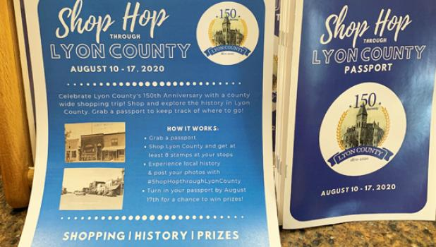 Passports can be turned in at the Lyon County Museum Book Drop in Marshall.