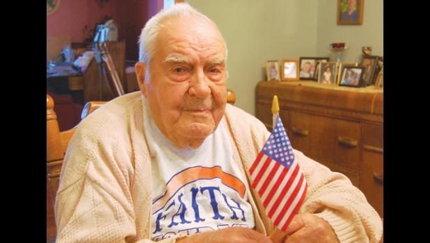 Phil Breyfogle, a World War II veteran, turns 98 today (Oct., 8).