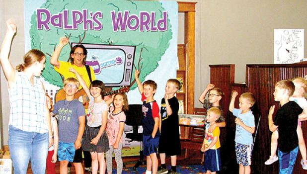 The high energy and super melodic senses had the kids rocking and dancing. It's part of the Plum Creek Library System's summer programs.