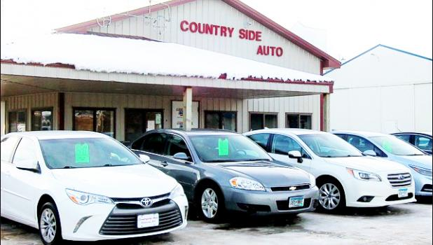 Get a new ride from Countryside!