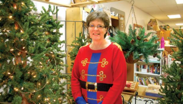 """Celebrating her first anniversary at """"This and That Recreated"""", Shirley Gladis celebrated her first year in business."""