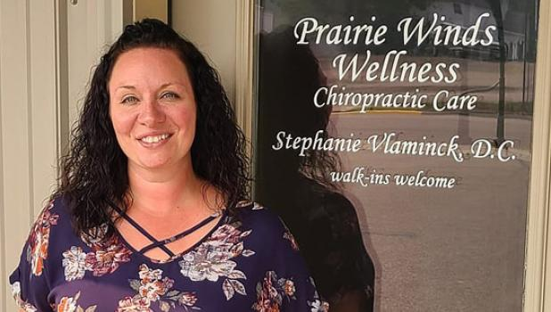Dr. Stephanie Vlaminck has practiced here for 11 years.