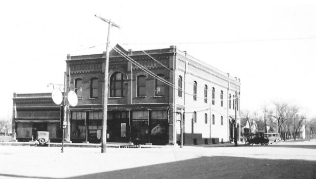 """The O.G. Anderson """"Big Store"""" in downtown Minneota."""