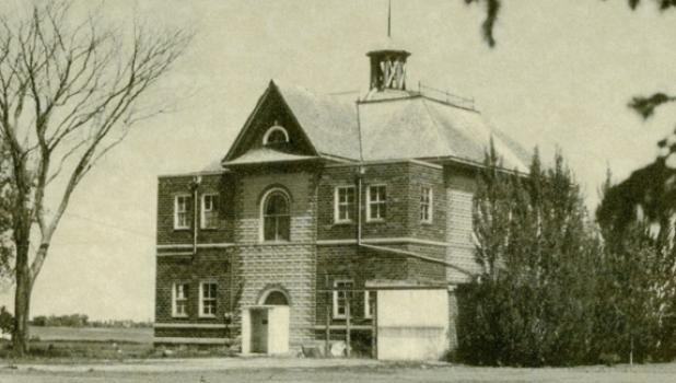 This undated photo is the former District 43 Taunton School.