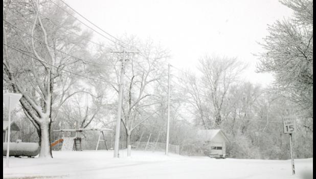 The Minneota area was a winter wonderland!
