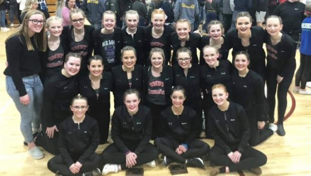 Members of the Canby/Minneota Sensations