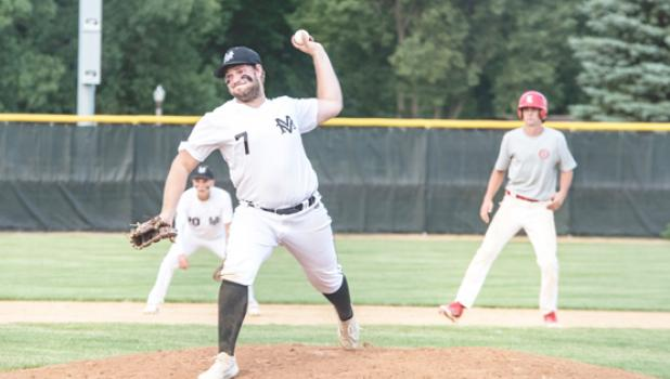 Grady Moorse pitched in relief on Monday in Luverne for one inning.