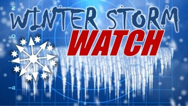 WINTER STORM WATCH IN EFFECT FROM LATE WEDNESDAY NIGHT THROUGH THURSDAY AFTERNOON