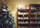 The Heritage Room Christmas Display at the Lyon County Museum.