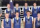 Minneota 9th grade Pacesetters boys' basketball team.