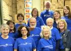 Employees from  Ameriprise Financial, Van der Hagen, Skogrand and Associates worked together to help fight against hunger.