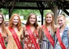 Candidates for Boxelder Bug Days Queen this year are: (Left to right) Reese Gillund, Natalie Bot, Katie Konold, Rachel Vlaminck and Katelin Schroeder. Special Photo.