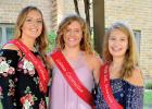There are three candidates for Boxelder Bug Days Queen this year. They are: (left to right) Sydney Larson, Brooklyn Nelson and Grace Jeremiason.
