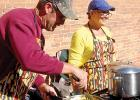 Pete and Carey Doyscher always bring delicious chilis to Boxelder Bug Days.