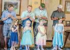 At the Father-Daughter's Dance at Countryside Golf Club on Saturday, Luke and McKenzie DePestal, Joe and Alexis Thostenson, Chris and Neveah Schrieber, and Adam and Niara Gorecki all enjoyed the festivities.