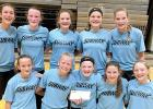 The Minneota Eight Grade Girls won the Marshall Summer League basketball Tournament on Monday, July 22.
