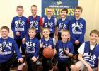 Members include: (front row, left to right) Parker Bradley, Adam Dalager, Lincoln Jerzak, Lucas Rybinski and Eli Gruenes. Back row: Ryan Dalager, Peyton Sheik, Max Rost, Ben Schmidt and Keaton Jurrens.