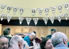 The banner at the Bethel Community Church said it all as 140 people came to the Thanksgiving feast at the church.