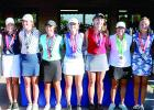 The top golfers in Class A include Heidi Guttormsson of Minneota (far right). She fiinished tied for second place.
