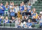 A special time came when the Minneota Pep Band, joined the Fosston Pep Band to play together at the state tournament.