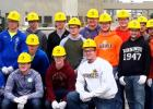 Minneota students toured the ADM plant in Marshall.