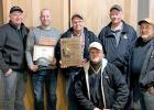 Members of the Pheasants Forever are: left to right, Randy Kraus, Mike Bloom, Ron Persoon, Jeff Davis, Jon Bloom and Mike Baatz.