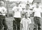 This photo of the 1955 Eidsvold Lucky Stars 4-H club ran in the Mascot a few weeks ago asking readers to identify the boys in the photo. We have now received confirmation of the names. Far back: Patrick Berends; kneeling in front: Leonard Coequyt; standing, left to right: Philip Berends, Brian Schreiber, Mike Ahern, and Pat Ahern.