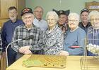 Members of the Porter American Legion Post 457 that provided bingo to residents.