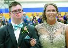 Ross and Laura looked sharp at the Grand March.