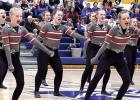 The Canby/Minneota Sensations Dance Team made it's first appearance in Minneota at Tuesday's game.
