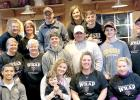 This group participated with WRAP to raise funds for the Women's Rural Advocacy Program.