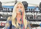 Ali Gray performed on the main stage in Big Square on Saturday.