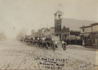 "This photo titled, ""Off for the Front from Minneota"" is a downtown scene from Feb. 23, 1918"". Each week, we will be showcasing a different ""throwback"" as Lyon County celebrates its 150th anniversary this year."