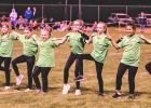 The Minneota Sidekicks, a dance team of students in grades K-4 performed at halftime of the Minneota football game on Friday night. The Sidekicks are coached by members of the Canby/Minneota dance team.