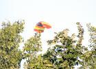 A sky rider flew over Minneota Wednesday night.