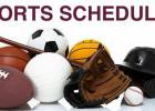 Updated Sports Schedule