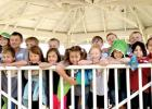 Kindergarten, first and second graders from St. Edward School went on a field trip to Pioneer Village this week.