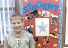 The Third/Fourth Grade Star of the Week was Leo Hennen.  Congratulations Leo!