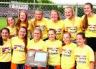 The Canby/Minneota girls took second as a team in Section 3A.