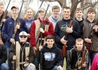 Members of the Minneota Trap Shooting team.